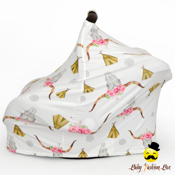 Baby nursing cover multi-use car seat cover canopy soft cotton infants car seat cover