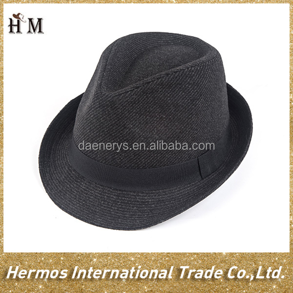 china wholesale cheap wool felt fedora all kinds of hat and cap from factory