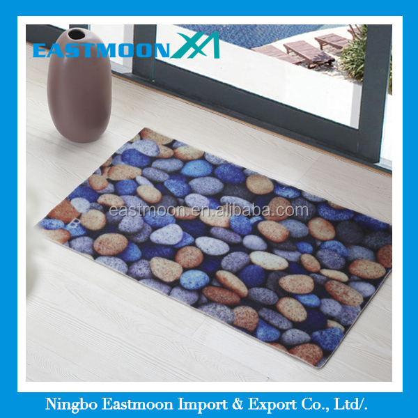 3d print customized design kitchen rugs and carpet large