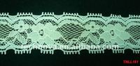 Designed Elastic Lycra Lace trim for garments