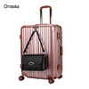 Big brand design hot sale abs pc aluminum luggage hard case luggage vip quality sky travel luggage