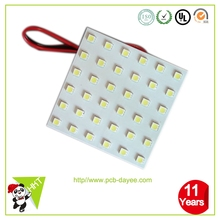 Aluminium LED PCBA Prototype, Aluminum PCB Board Assembly