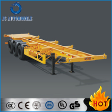 Hot selling 3 axles flatbed semi trailer/40 feet container trailer/truck trailer for sale