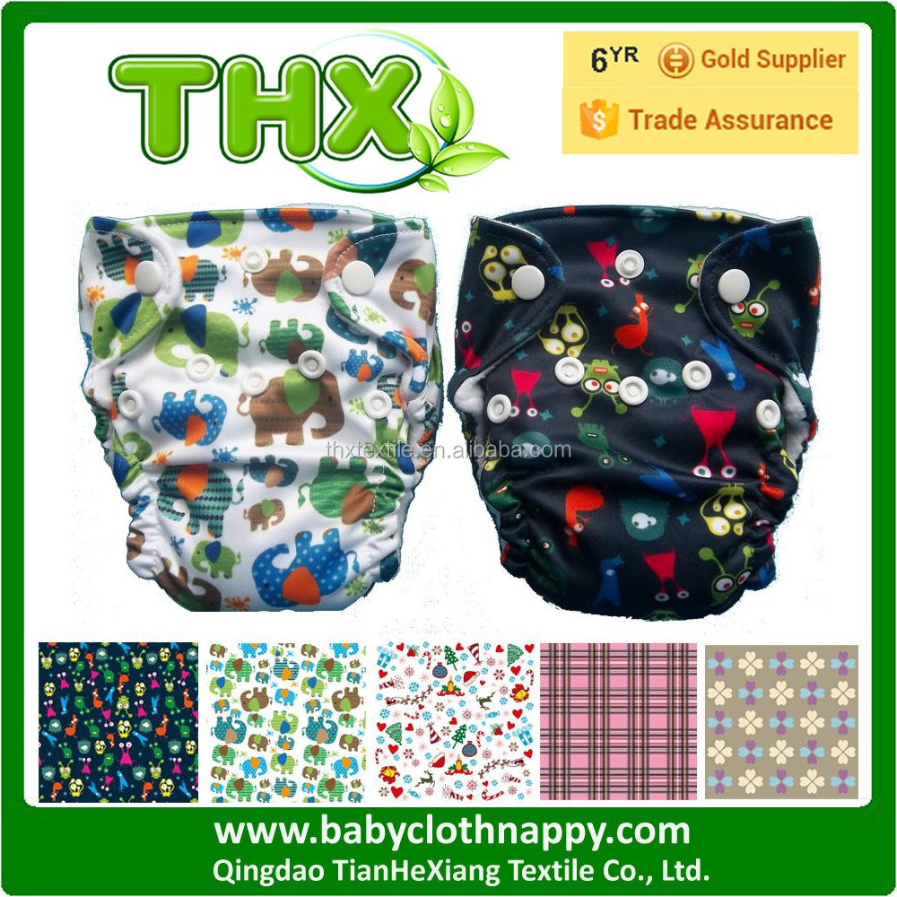 2017 New Arrival High-end THX Diaper THX NB AIO Baby Cloth Diaper