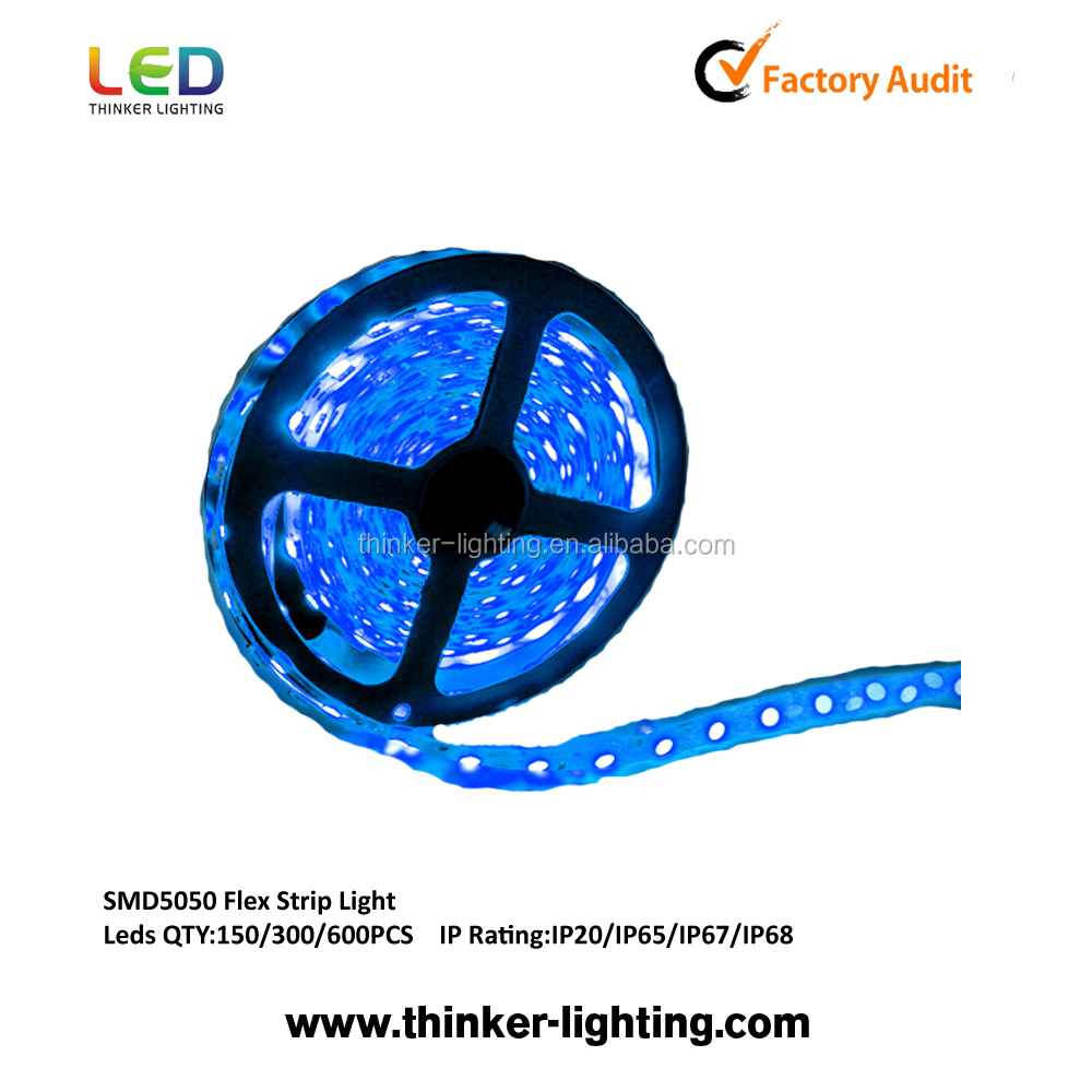 12 volt 5050 led strip light, led light strip, strip led light from thinker lighting
