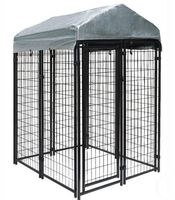 Heavy duty large outdoor modular dog kennel kennels for dog expandable dog fence