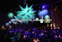 cheap wedding decorative hanging star inflatable decoration
