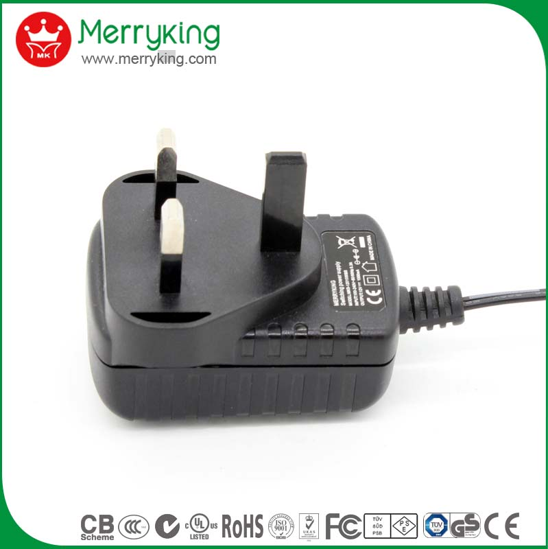 High power transformer 3v 300ma ac dc adapter for UK