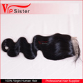 Aliexpress Human Hair 4*4 inch Top Lace Closure With Baby Hair Brazilian Deep Wave Closure