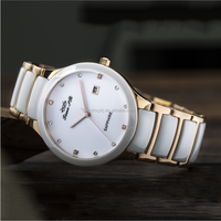 Top Quality Beautiful Luxury Famous Fashion Ceramic Ladies Watch Supplier