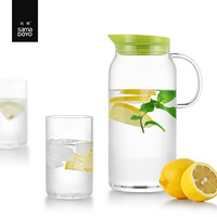 SAMADOYO Clear Glass Water Bottle/ Kettle/ Pot/ Jug/ Canteen