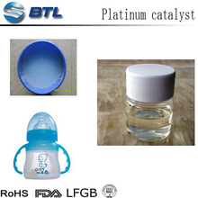 Platinum catalyst for addition liquid silicone