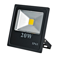 COB IP65 IP Rating and Aluminum housing Material Led Flood Lights 20watt 3 years warranty