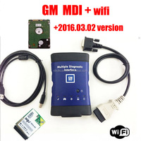 2016 Top selling Perfect Version GM MDI Auto Scan+WIFI+HDD Multiple Diagnostic Interface gm mdi Diagnostic Tool with Software