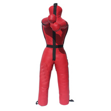 high quality pu leather mma grappling martial arts boxing punching wrestling dummy
