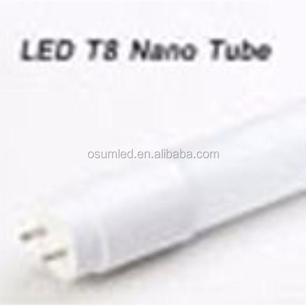 Factory high brightness 24w Nano 100lm/<strong>w</strong> t8 led tueb g13 led lighting