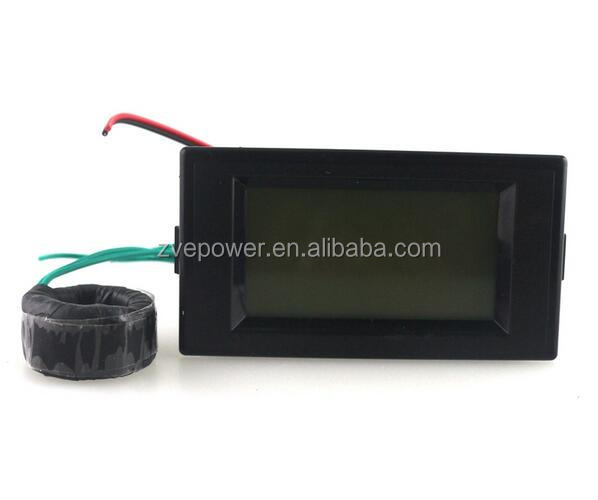 Pointer type LED Digital current meter Ammeter AC0-100A ampere