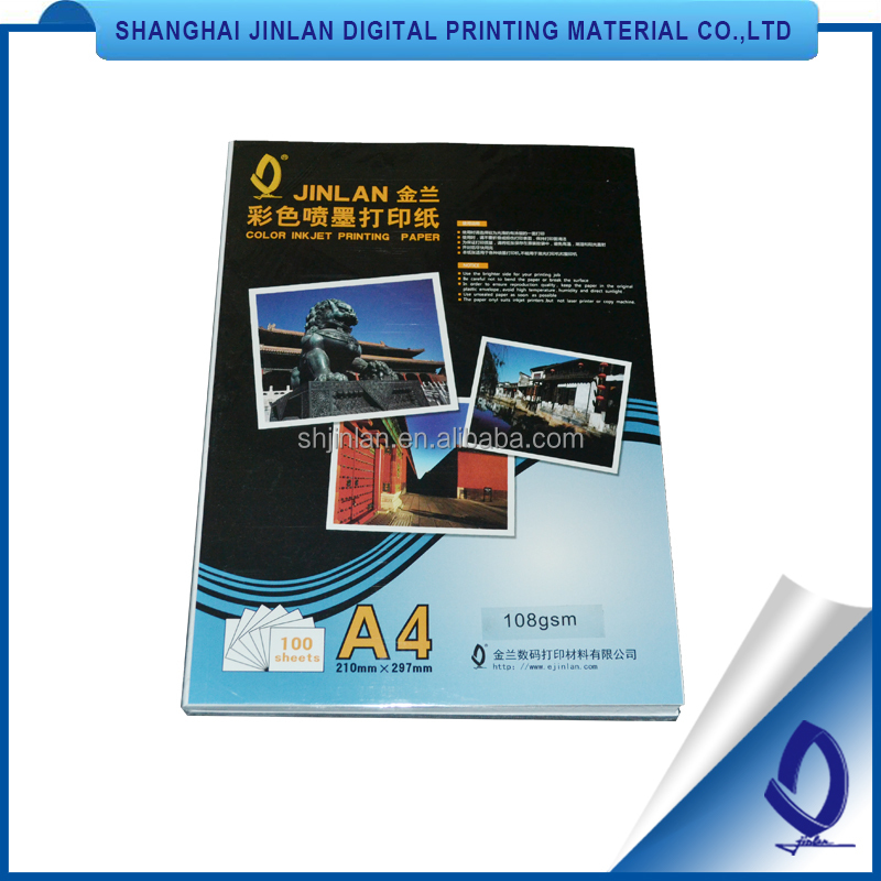 photo paper matte inkjet paper for digital printing