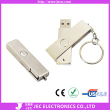 Classic Useful Metal Retractable USB Flash Drive(Model:JEC-305)