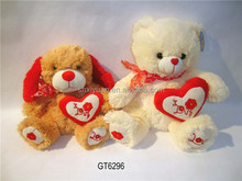 Novelty romantic gifts love valentine teddy bear dog for sale