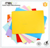 A4 size no-fading double sided color paper of multi colors choice