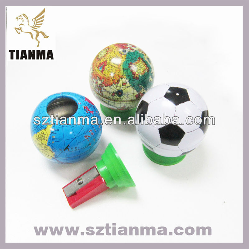 Promotional Gift Items For Students Globe Pencil Sharpener Factory