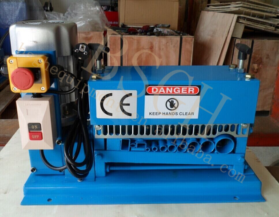 the lowest price metal recycling used machinery scrap copper wire peeler machine with discount price