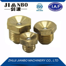 Jianbo brass flush type grease nipple