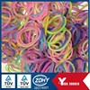 2014 hot sale silicone rectangular rubber bands with mixed corlors and sizes