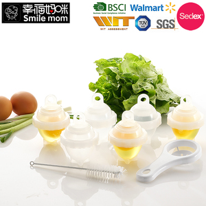7 in 1 No Shell Non Stick Egg Cup hard boiled egg cooker