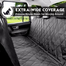 Free Samples Waterproof Cotton Quilted 600D Polyester pet Car Seat Cover