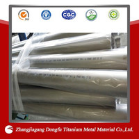 china supply accordion pipe and oval titanium tube