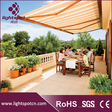 balcony sunshade auto retractable awning