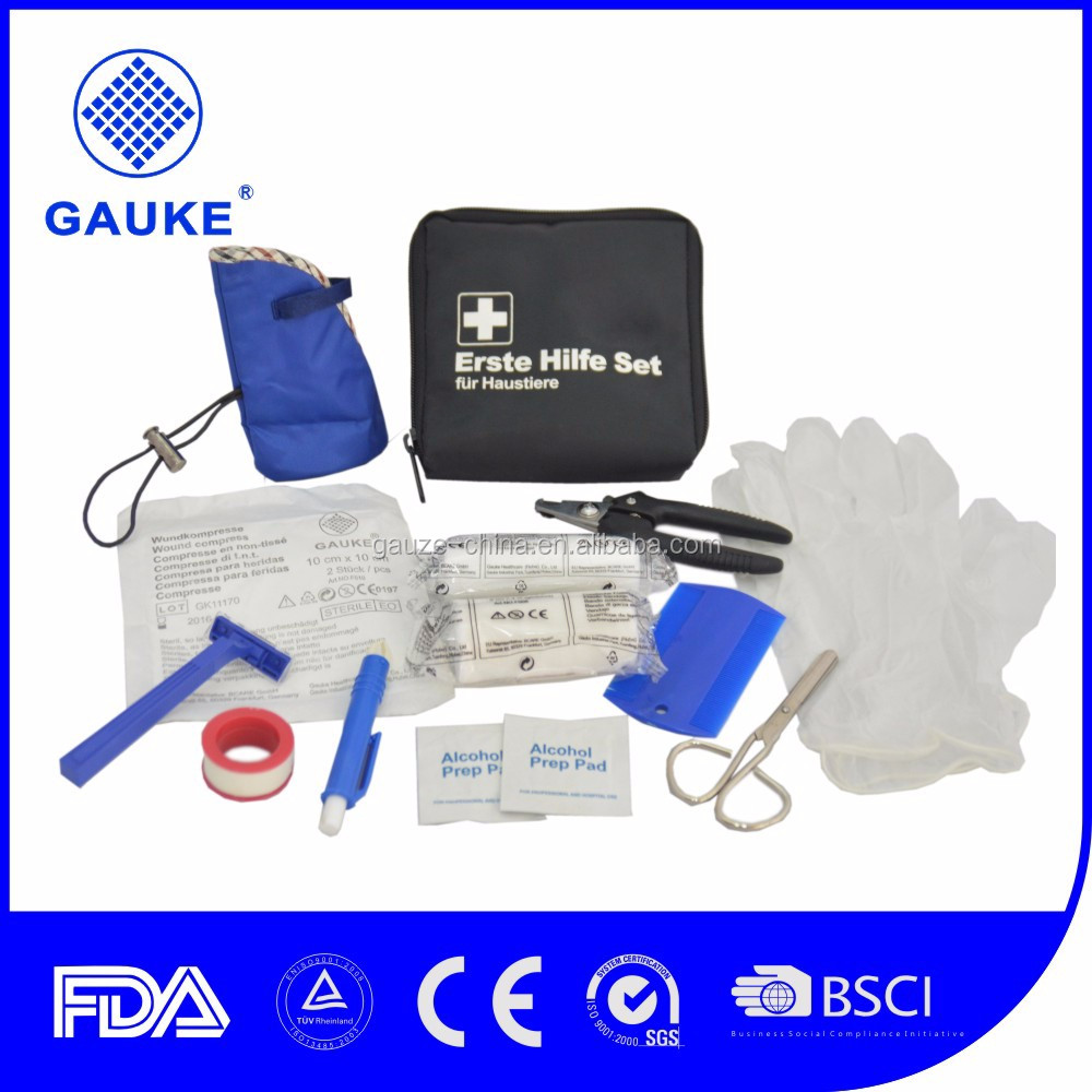 Gauke Healthcare Professional First Aid Kits CE and ISO13485 Certificated OEM and ODM Service Manufacturer