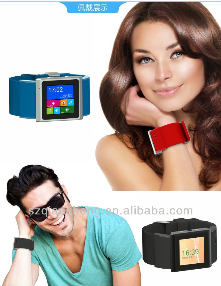 Android smart watch phone with 3g WIFI GPS Bluetooth Touchscreen for Smart Android hand watch mobile phone