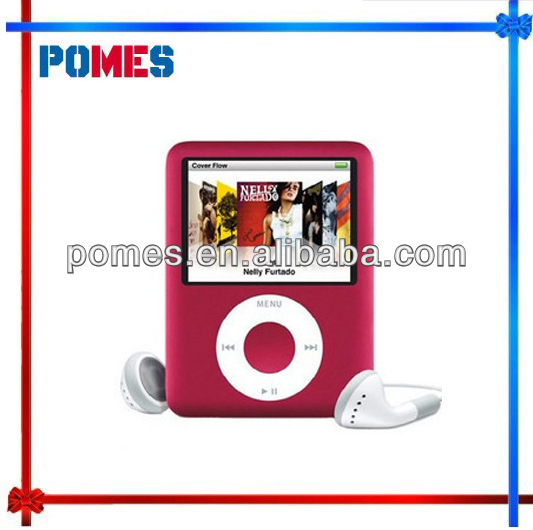 "100% NEW STYLE 16GB 1.8"" 3TH GEN FM MP3 MP4 PLAYER with retail box and drop shpping"