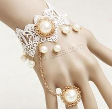 Lace Flat Round Gold Bracelet Design For Girls