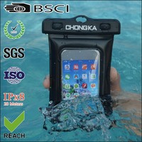 China Supplier OEM Waterproof Mobile Phone Pouch With Earphone