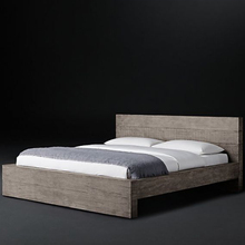 Home furniture factory bedroom furniture king size solid wood bed