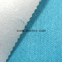 100% polyester faux line fabric bonded with pongee for sofa