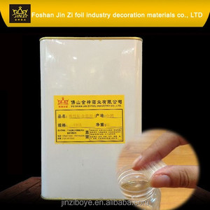 Eco-friendly natural liquid adhesive glue for hot stamping foil/hot stamping glue