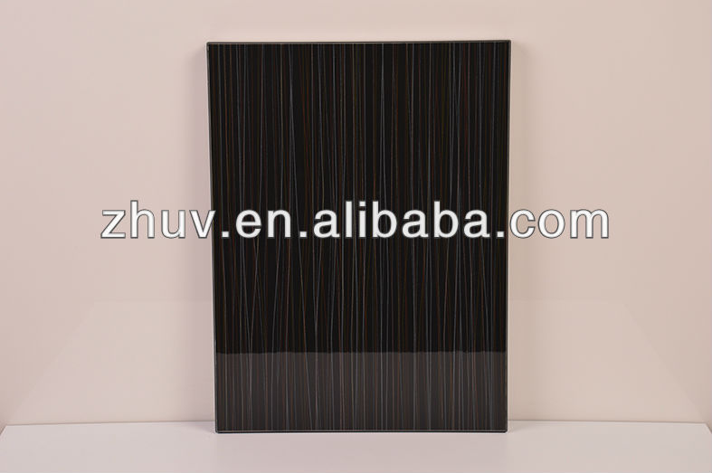 Home furniture parts, glossy uv paint MDF board