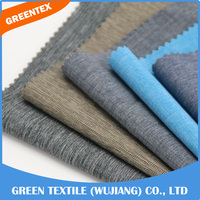 BSC11 twill design rayon polyester heavyweight spandex fabric