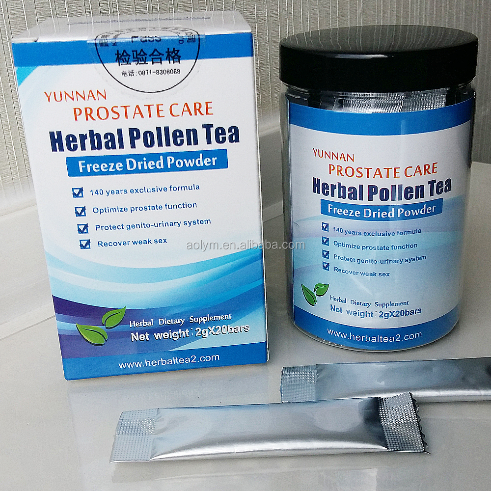 The breakthrough Chinese Traditional herbal tea cure the prostate genitourinary system disease