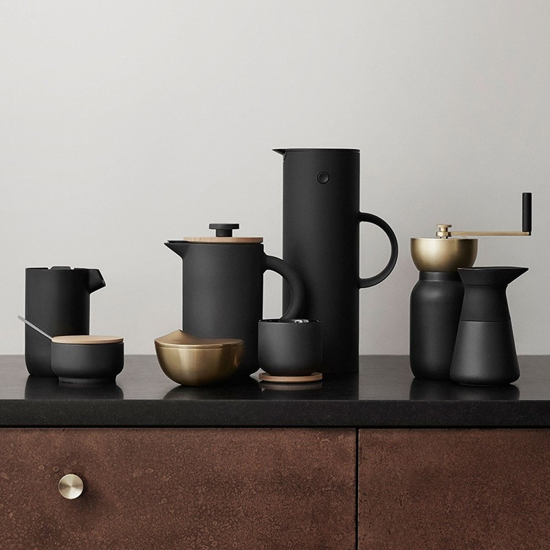 matte black OEM from china directly french press coffee pot