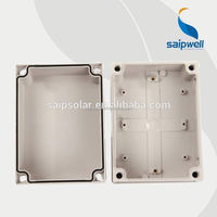 Saip/Saipwell outdoor waterproof DS-AG-1217-1 125*175*100mm ip65 plastic case box wonderful case box