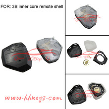 Toyota Vios Keyless Remote rubber Inner plastic key Toyota 3 button best quality