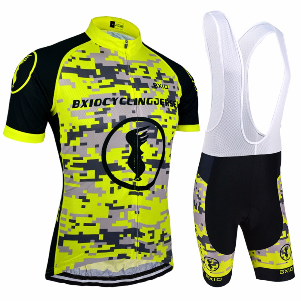 BXIO Customized Cycling Jerseys MTB Men's Bike Wear Pro Team Cycling Kits Ropa Ciclismo BX-0209MC083