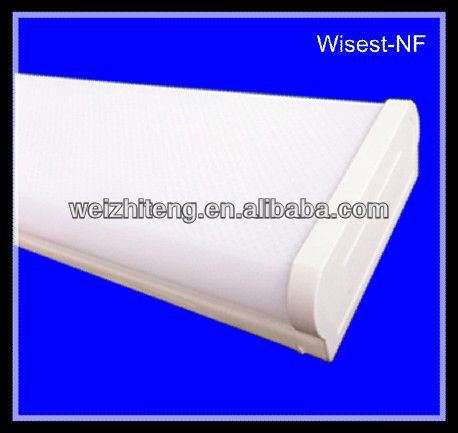 T8 2x20w 2x30w 2x40w CE fluorescent lamp holder with cover