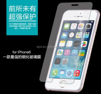 Ultra Thin 2.5D 9H Tempered glass screen protector for iPhone 4/4s/5/5s/6/6 plus screen protector